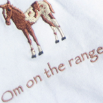 Custom Om on the Range Shirts