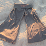 Fold Over Gaucho Pants